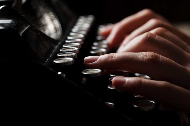 כותבי תוכן - מכונת כתיבה